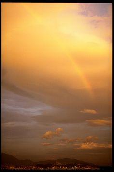 rainbow  in Fukuoka city