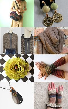 Earth color by Coco on Etsy--Pinned with TreasuryPin.com #Etsyvintage #Estyhandmade #giftideas