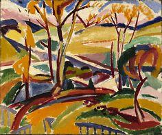 H. Lyman Saÿen (USA, 1875-1918) – Valley Falls I (1915) Smithsonian American Art Museum