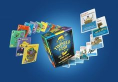#GIVEAWAY Cure those rainy day blues with a great new game that your kids will LOVE. 3 will win Twisted Fish!