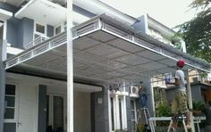 6 All Jenis Kanopi Wonderful Picture, Malang, New Pictures, Canopy, Pergola, Exterior, Outdoor Structures, House Design, Bali