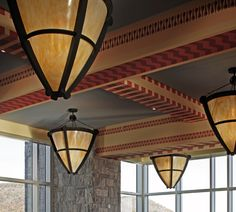 Lights at the West Point United State Military Academy's Jefferson Hall Library & Academic Center #lights #design