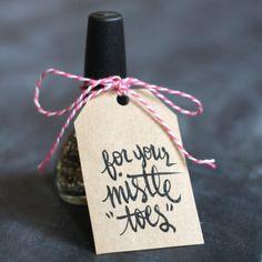 Printable Nail-Themed Gift Tags
