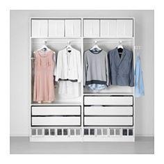 IKEA - PAX, Garderobekast, -, , Gratis 10 jaar garantie. Raadpleeg onze folder voor de garantievoorwaarden.Deze kant-en-klare PAX/KOMPLEMENT-oplossing is met de PAX-planner makkelijk aan te passen aan je behoefte en smaak.Het element is ondiep en daardoor perfect voor gebruik in kleine ruimtes.Met schuifdeuren heb je meer ruimte voor meubels omdat ze geopend geen ruimte in beslag nemen.Wil je de binnenkant op orde houden, dan kan je het geheel completeren met inrichting uit de serie…