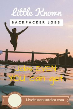 work travel tip Undiscovered jobs you could snag as a backpacker! Heres a few little known jobs and industries that could make all the difference for anyone seeking work/travel jobs in Australia, Canada, Asia or any other backpacker destination. Travel Jobs, Work Travel, Travel Advice, Budget Travel, Travel Hacks, Jobs Australia, Australia Travel, Working Holidays, Work Abroad