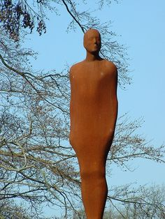 https://flic.kr/p/tURe1 | Antony Gormley, Yorkshire Sculpture Park | Antony Gormley, One or Other, 2000 Rusted Steel