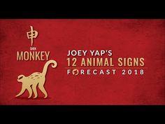 4b52f7155 2018 Animal Sign Forecast: MONKEY [Joey Yap] - YouTube Chinese Astrology,  Dog