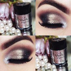 Resenha dos pigmentos da Vult no blog www.pausaparafeminices.com