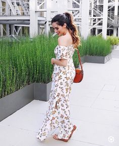May 2017 Instagram Roundup | nordstrom floral maxi dress