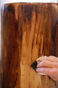 Trendy Tree Trunk Slices Art Stump Table - ♦♦ N _ Tree - . Tree Trunk Slices, Tree Trunk Table, Tree Stump Furniture, Rustic Furniture, Cheap Furniture, Furniture Online, Furniture Direct, White Furniture, Metal Furniture