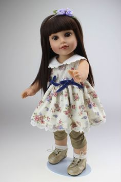 """New line of 18"""" Dolls available at www.harmonyclubdolls.com"""