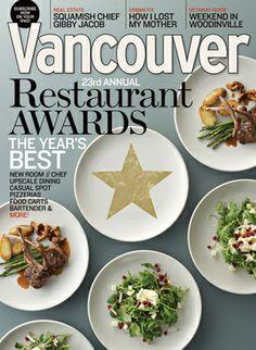 Vancouver Restaurant Awards 2012 | Vancouver Magazine