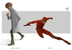 FLASH - Barry Allen By Kizer