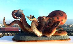 octopus cake (over 5 ft long)
