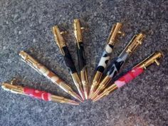 Selection of Camo Bolt Action Kit Pens