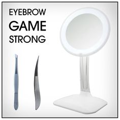 Up your eyebrow game with ToiletTree Products grooming line.