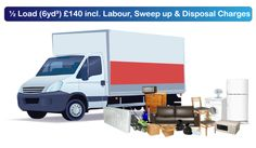 View our prices for rubbish clearance in London and Kent UK