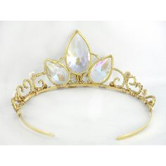 THIS ITEM CAN NO LONGER BE MADE IN TIME FOR HALLOWEEN. Inspired by tangled this crown will complete your Rapunzel costume. Made with golden wire and more than 3...