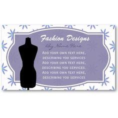 Dress Form: Daisy Business Card