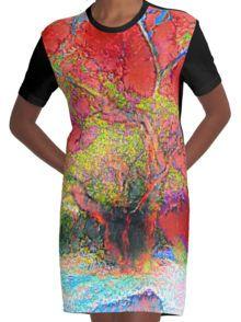 De Twins Versie 002 Grafische T-shirt Dress