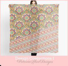 Dramatic Scarf Chiffon large square elegant by #PatriciaSheaDesigns #EtsyGifts