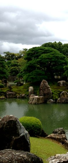 The garden surrounding Nijo Castle in Kyoto, Japan. Visited with Lisa, Jodie and Marise in 1985