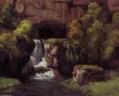 Gustave Courbet - La source du Lison