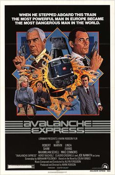 Avalanche Express movie poster