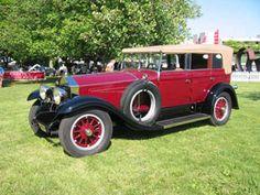1925 Locomobile Convertible Sedan