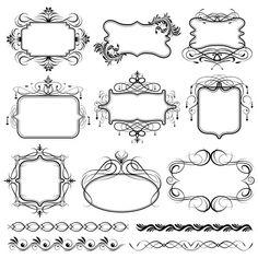 디자인소스+장식용테두리 문양+테두리+장식문양 : 네이버 블로그