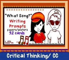 Writing prompts based on song lyrics: Exploring the impact of lyrics. Young people listen to music daily, abso. Teaching Music, Teaching Reading, Teaching Tools, Teaching Ideas, Pirate Songs, Writing Prompts, Writing Papers, Writing Ideas, Pop Songs