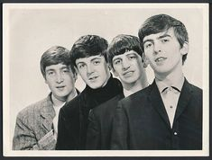 Original Beatles photo 1963 by Dezo Hoffmann - The Beatles Photo Vault