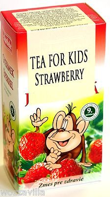 BIO Herbal Tea for children - Strawberry Herbal Tea, Herbalism, Cereal, Strawberry, Kids, Children, Recipes, Intelligence Service, Food