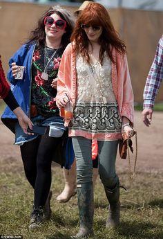 Florence Welch = festival fan