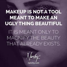32 Best Beauty Makeup Quotes Images Makeup Quotes Beauty