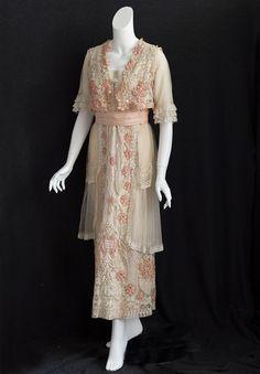 Edwardian lace dress