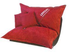 Black Friday Sale! Red Velvish Pillowsac Cover & Accessory Set | #Lovesac #BlackFriday #deals #ultimategift #Holidays #Sale