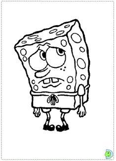 Spongebob Squarepants Free Printable Coloring Pages For Kids