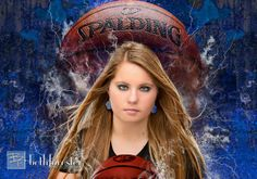 Senior pic idea Basketball portrait Athlete photo by Beth Forester Photography