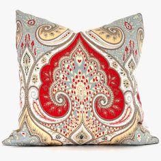 Cuscino decorativo cuscino coprire Kravet rosso di PopOColor