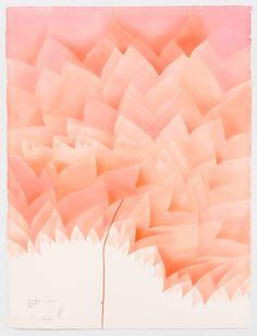 WV 2015-030 Beobachtungen im Jetzt (25) Avatar III Now Jorinde Voigt Berlin 2015 76 x 56 cm Pastell, Ölkreide, Bleistift auf Papier Unikat Signiert