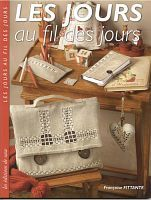les Jours au fil des jours- small fabric and embroidered goods for Christmas