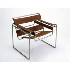 Marcel Breur, 'Wassily' club chair, model B3, Germany (manufactured), 1925-1926