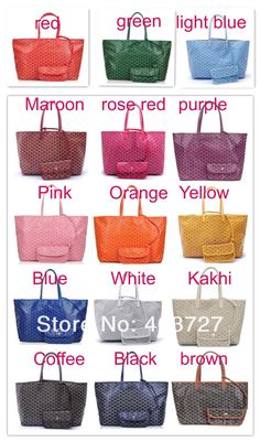 Goyard Colour on bag