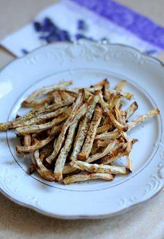 Roślinożerka: Frytki z selera dla dietujących