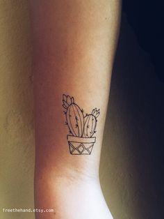 Cactus / Succulent Tattoo