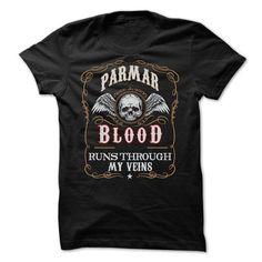 I Love  PARMAR blood Shirt T shirts