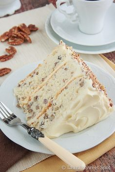 Toasted Butter Pecan Cake pinned with Pinvolve - pinvolve.co