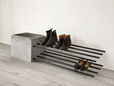Concrete Crafts, Concrete Art, Concrete Projects, Concrete Design, Polished Concrete, Concrete Furniture, Metal Furniture, Industrial Furniture, Diy Furniture