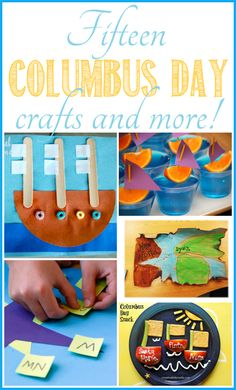 15 Columbus Day crafts & more - Ask Anna